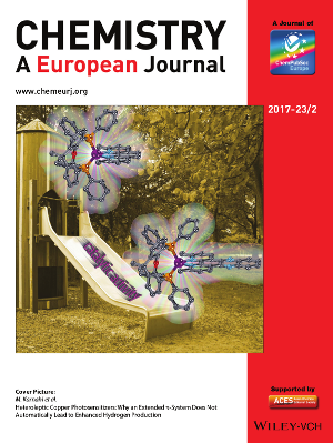 Cover Picture CuPS Chemistry European Journal