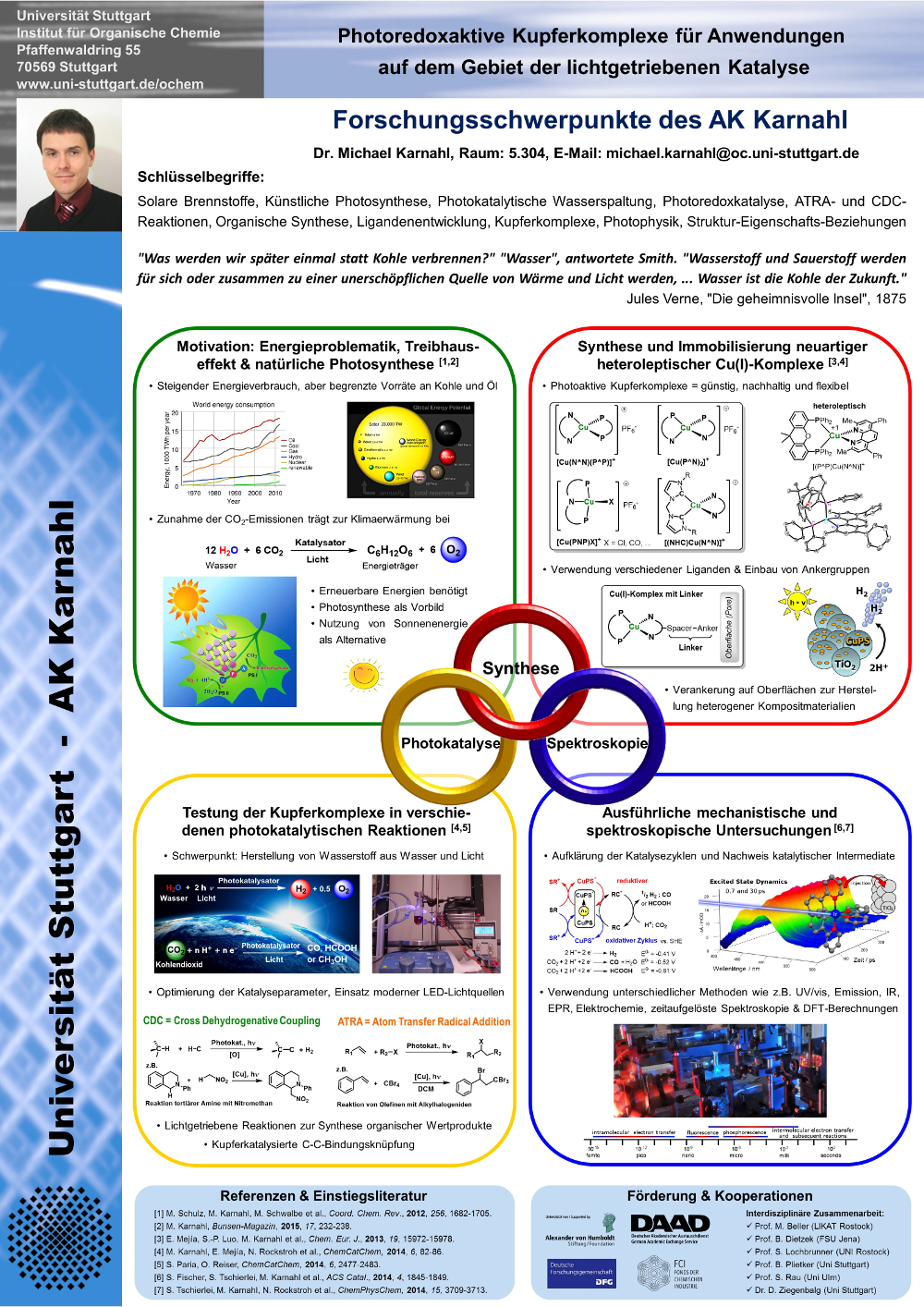Poster Karnahl research group